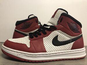Air Jordan Alpha 1 Chicago Bulls Size 9 2010 White Black Red 392813-101 Nike