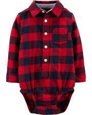 OshKosh  Baby Boys Buffalo Check Button-Front Bodysuit...