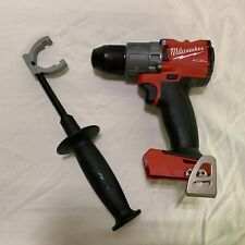 Milwaukee 18V FUEL 2804-20 Brushless Hammer Drill & Side Handle (New From Kit)