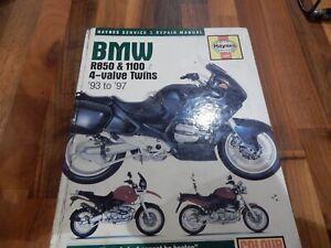Haynes hardback  Manual 3466 - BMW R850, 1100 & 1150 4-valve Twins, '93 to '97