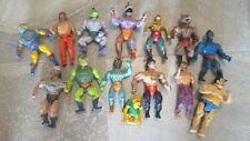 1980's He-Man Galaxy Wrestling GI Joe Action Figures & Accessories
