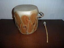 Vintage Authentic Native American Drum