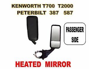 100W Halogen Larson Electronics 1015P9IA17Y 6 inch 1999 Kenworth T2000 Side Roof Mount Spotlight -Chrome Passenger Side with Install kit