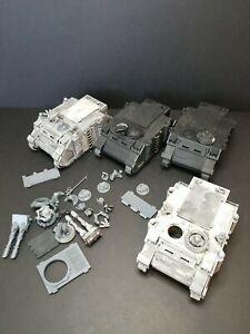 Warhammer 40k Space Marines Rhino lot