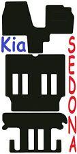 Kia Sedona Tailored car mats ** Deluxe Quality ** 2006 2005 2004 2003 2002 2001