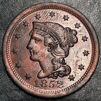 1852 Large Cent - High Quality Scans #F740