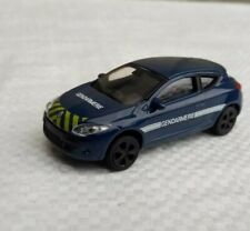 Norev 3 inches. Renault mégane rs Gendarmerie 2009.   Neuf en boite.