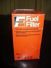 Fram Fuel Filter, P7412, New
