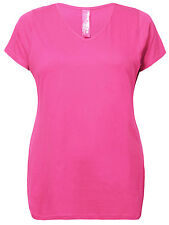 Cotton Blend Short Sleeve Casual Tops & Shirts for Women