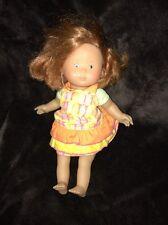 "Corolle 12.5"" Soft Stuffed Vinyl/Cloth Huggable Red Hair/Freckles Baby Doll #5"