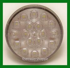 """Reverse Back-Up 18 LED 4"""" Round Grommet Mount White Trailer Light"""