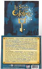 LES ENFOIRES 2008 : les secrets des enfoirés CD ALBUM jean jacques goldman