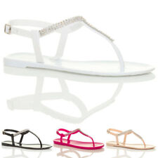 Block Heel T Bars Casual Sandals & Beach Shoes for Women