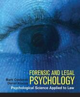 Forensic And Legal Psychology - by Costanzo