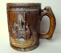 Disneyland Ceramic Log Mug Vintage circa 1960