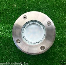 FARETTO ESTERNO INCASSO CARRABILE IP66 Con Lampada LED 7,5W 230V  GU10  D.101