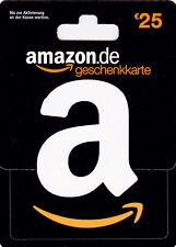 Amazon.de 25€ EUR // Versand im Minutentakt Lieferung via Ebay-Email