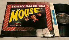 SOUPY SALES Do The Mouse ORIGINAL MONO LP on ABC-PARAMOUNT clean soul