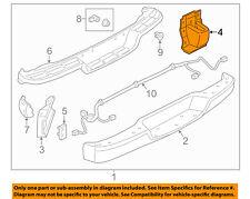 GM OEM Rear Bumper-Inner Brace 84283572