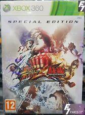 Street fighter X Tekken Ed.Spec MICROSOFT XBOX 360° NEUF NEW VERSION PAL EURO.