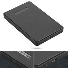 USB 2.0 Hard Drive External Enclosure 2.5 inch SATA HDD Mobile Disk Box Cases R#