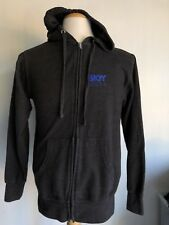 SKYY VODKA Official Dark Grey PROMO Full-Zip Hoodie Sweatshirt Size Small
