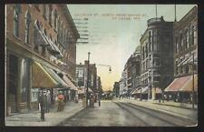 POSTCARD FT FORT WAYNE IN/INDIANA CALHOUN STREET BUSINESS STORE FRONT