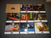 THE FAST & THE FURIOUS: TOKYO DRIFT - ORIGINAL SET OF 8 FRENCH LOBBY CARDS