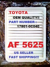 AF5625 CA10163 05-15 TOYOTA TACOMA 4 CYL AIR FILTER Super Fast Shipping Ever!!!