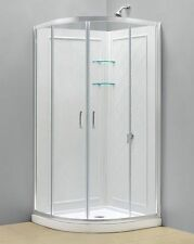 "DREAMLINE ""33 x 33""PRIME SHOWER ENCLOSURE,BASE AND BACKWALLS COMBO"
