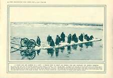 1915 Dummy Gun On Raft French Senegalese Action