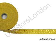 Braid Gold Mylar Oak Leaf 25 mm Rank Marking Lace Trim R1283