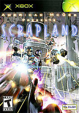 American McGee Presents Scrapland (Microsoft Xbox, 2005) DISC IS MINT
