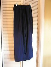Scrubs Indigo Navy Dark Blue Scrub Pants Medical Nursing Women's Size M NICE!