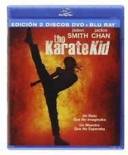 The Karate Kid Blu-ray EDICION 2 DISCOS DVD+Blu-ray (REGION LIBRE A-B-C)