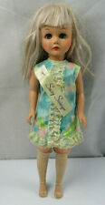 """Vintage 70's Tammy Sindy Susi Suzy Swinter Blond Doll Unmarked 19"""" With Clothes"""