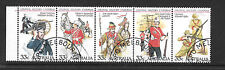 Uniforms set - australia 1985 33c stamps - see scan