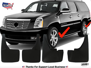 Fit For 2007 2014 Cadillac Escalade Mud Flaps Mudguard Splash Guard Rear Front