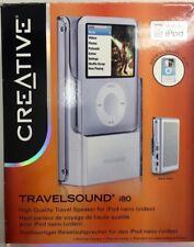CREATIVE TRAVELSOUND i80 ALTOPARLANTE DA VIAGGIO DOCK PER IPOD NANO VIDEO 3G