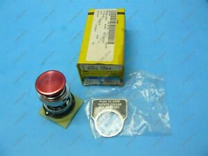 Square D 9001-TRM4 Ser A Pushbutton Operator Maintained Push/Twist Red New