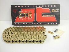 JT X-Ring Kette extra stark Teilung 525 100 Glieder gold / gold Sonderpreis !!!