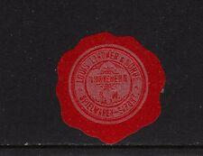 401863/ Siegelmarke - Spielwaren Export Louis Lindner - SONNEBERG