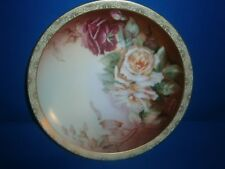 """Thomas Sevres Bavaria Hand Painted """"Pollana"""" 8 1/2"""" Plate signed Phillips"""