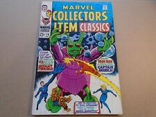 MARVEL COLLECTOR'S ITEM CLASSICS #18 Silver Age Fantastic Four 1968 FN+