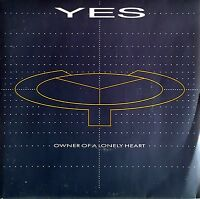 "Yes ‎7"" Owner Of A Lonely Heart - France (EX/VG+)"