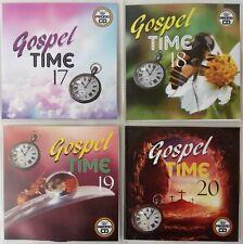 'Gospel Time' Vol 17-20 JUMBO 4CD New /Classic Reggae Gospel, Vocal, Ska, Soca