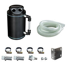 Mishimoto Universal Oil Catch Can Kit - Black