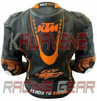 KTM Super Duke Motogp Motorcycle / Motorbike Street Gear Cowhide Leather Jacket