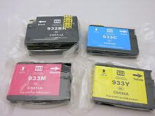 4PK 932XL BK 933 XL CMY Ink Cartridge for HP OfficeJet 7610 7110 6700 6600 6100