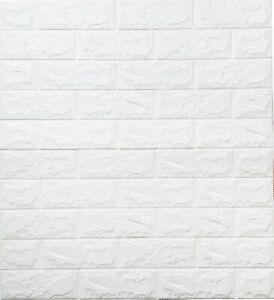 3D Tapete Wandpaneele Selbstklebend Ziegel Wandaufkleber C15 [ 4 Stück - 2,15qm]